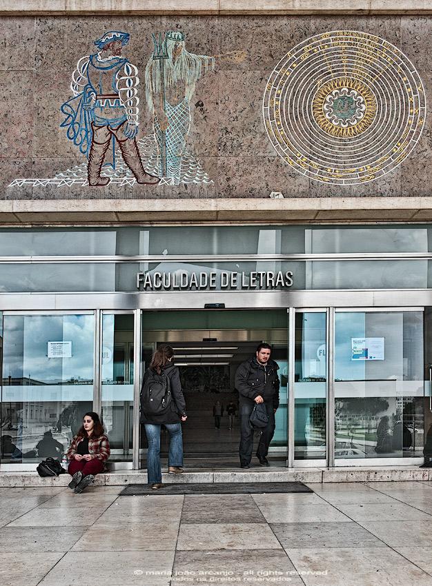 Entrada Faculdade de Letras da Universidade de Lisboa